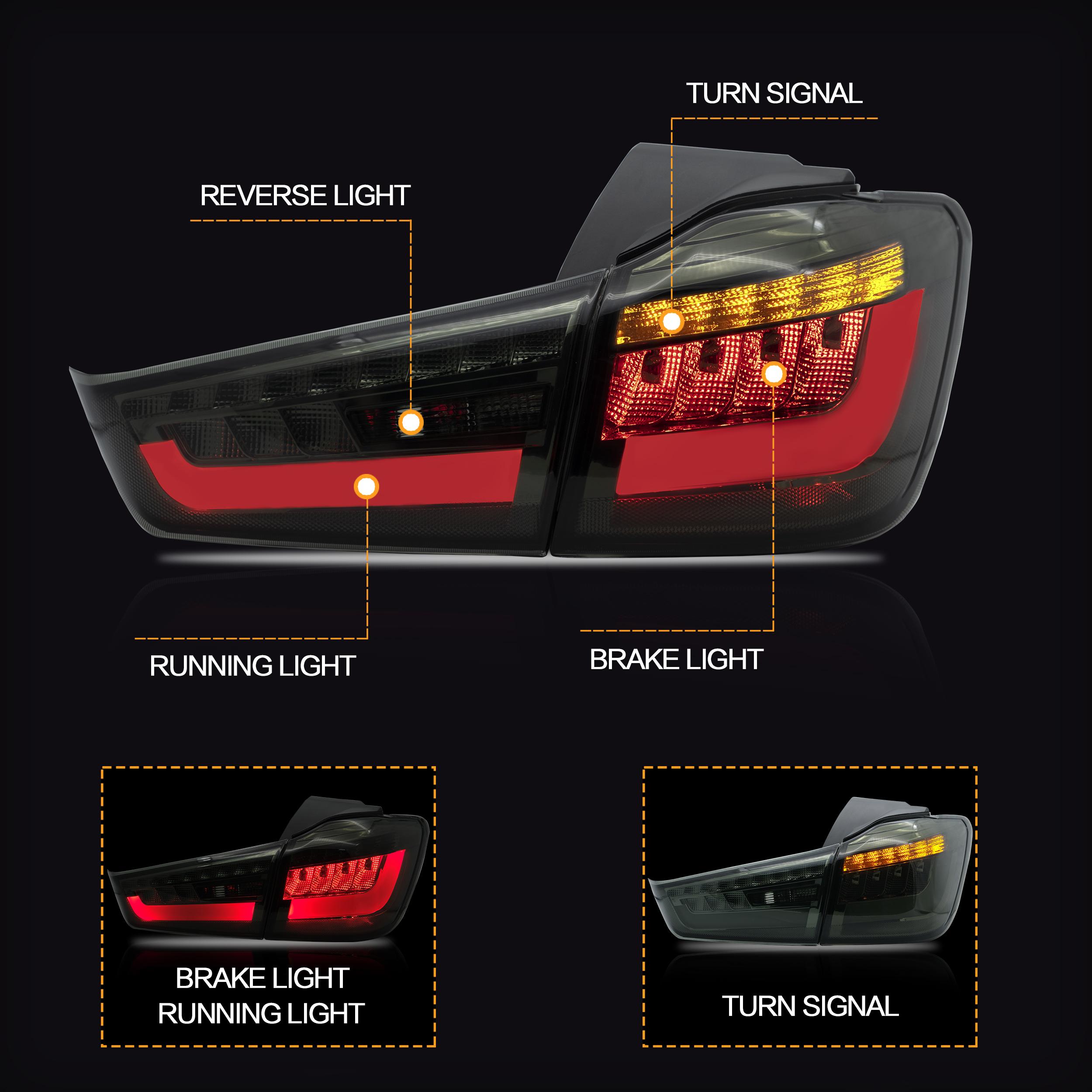 No variation Multiple Manufactures MI2801135C Standard Tail Light Assembly
